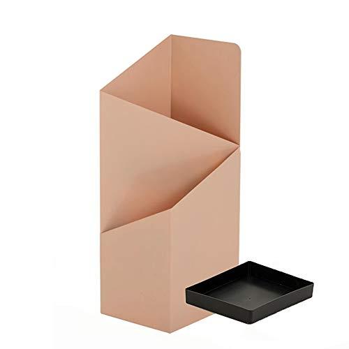 Portaombrelli Porta ombrelli AGYH Freestanding Metallo, Decorazione Cane Palla Bagagli Rack for Albergo Ufficio Entrata, Mobile Leccarda, Bianco/Oro/Colore Rosa/Nero/Rosso, 20X25X60cm
