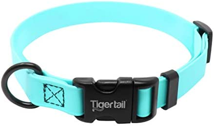 Tiger Tail Urban Nomad Dog Collar Lightweight Waterproof Odor Proof Dog Collar Small Sky Blue product image