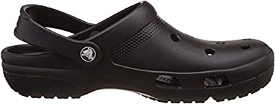 Crocs Coast Clog Black Men's 8, Women's 10