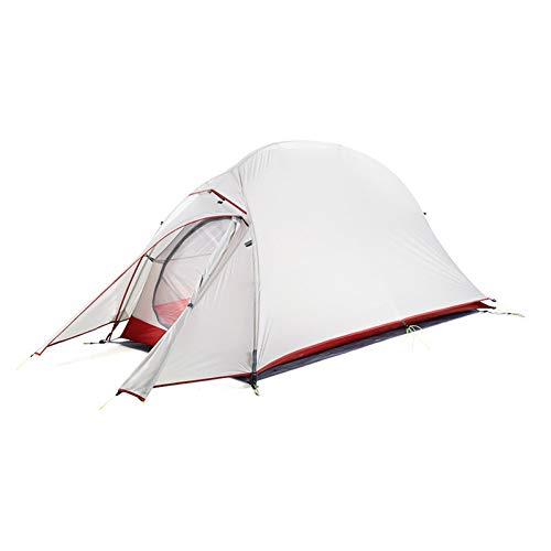 ZHJLOP tent Naturehike CloudUp Serie Ultralight Wandeltent 20D/210T Stof Voor 1 Persoon Met Mat Warm Tent NH18T010-T
