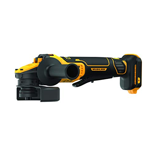 DEWALT FLEXVOLT ADVANTAGE 20V MAX Angle Grinder, Paddle Switch, 4-1/2-Inch to 5-Inch, Tool Only (DCG416B)