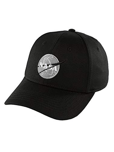 Alpha Industries Herren Snapback Caps NASA schwarz Verstellbar