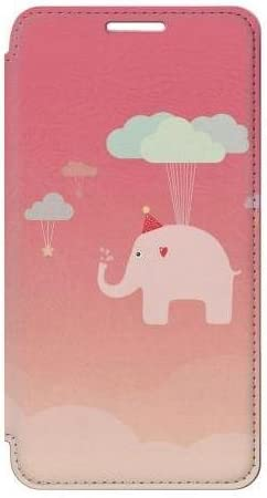 RW2560 Cute Elephant Flip Case Cover For Samsung Galaxy S5 product image