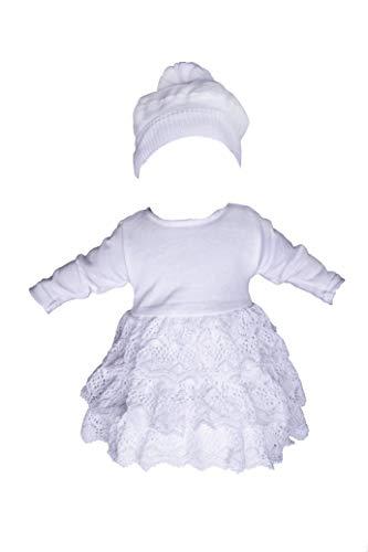 Miss Cocolina Baby Taufanzug Wei/ß Anzug Taufe Festanzug Taufset