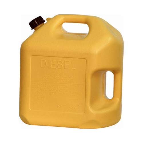 5GAL YEL Diesel Can (Pack of 4)