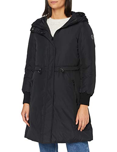 Armani Exchange Womens Caban Coat Parka, Black, XL