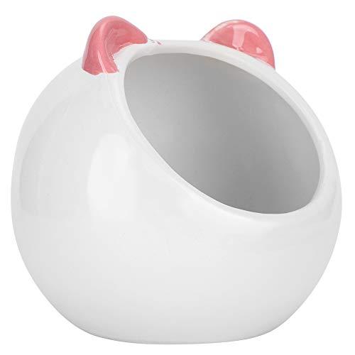 ViaGasaFamido Ceramic Hamster House, Small Pet Unique Cartoon Shape Hideout Adorable Durable Hamster Ceramic House Bed for Hamster Chinchilla Small Animals Nest Pet Supplies