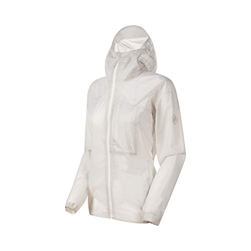 Mammut Women Kento Light Hooded Hardshell Jacket Bright White