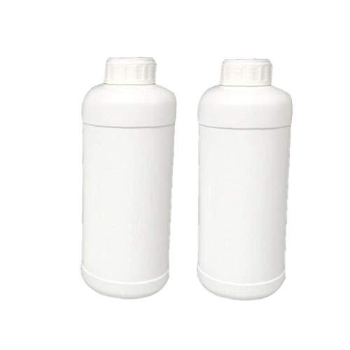 2ST Reagenzflaschen 500 ml Weithals Lab Chemical Reagenzflasche Flüssigkeitsspeicherbehälter
