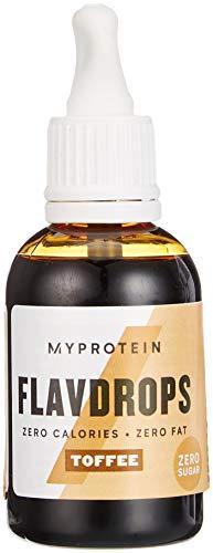 MyProtein Flavdrops Saborizante Natural, Sabor Caramelo - 50 ml