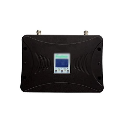 SBSNH Banda B2 B4 B5 850/1700 / 1900MHZ Repetidor 2G 3G 4G Signal Booster Amplificador de señal móvil de Tres Bandas + Kit de Pantalla LCD