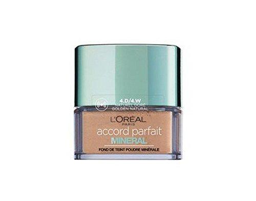 L'Oréal Paris - Poudre Accord Parfait Minéral 4D/4W - Naturel Doré