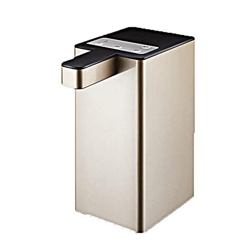 Dispensador Agua para Garrafas con Adaptador Eléctrico Automático Extraíble Recargable USB Botellas Agua Fria Y Caliente Bomba De Agua (Color : Gold)