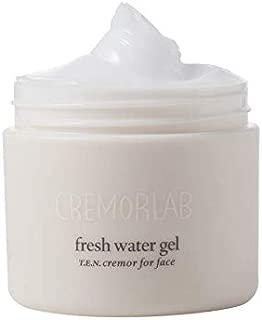 Cremorlab Fresh Water Gel 3.38 Fl. Oz. 100ml, Hydrating Cream, dry skin and creates revitalized, witch hazel, radiant skin moisturizer
