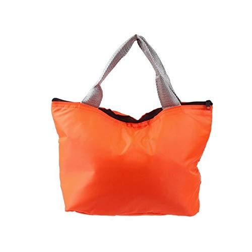 XIAOXINGXING Picknick-Taschen Thermo-Thermo-Isolierkühler Lunchpaket Frischhaltedose Geschenkkühlbox Piquenique Frischhaltedose (Color : Orange)
