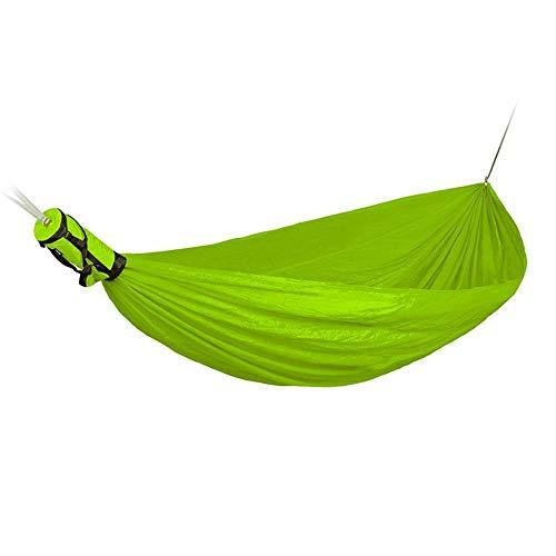 WYJW Hangmat buiten camping hangmat camping hangmat hoge intensiteit compacte anti-rollover boom schommel volwassen camping wilde net bed wieg