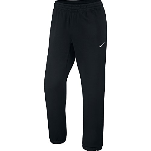 Nike Herren Sweathose Squad Fleece, schwarz/weiß, L, 611459