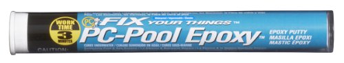 PC Products PC-Pool Epoxy Putty, Moldable 4 oz Stick, Off White 41116