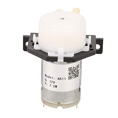 Peristaltische pomp DC 12 V doseerpomp mini dompel snap-in type waterpomp met aansluiting voor Aquarium Lab Analytic