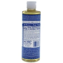 Dr. Bronner's Organic Castile Liquid Soap Peppermint 16 fl oz