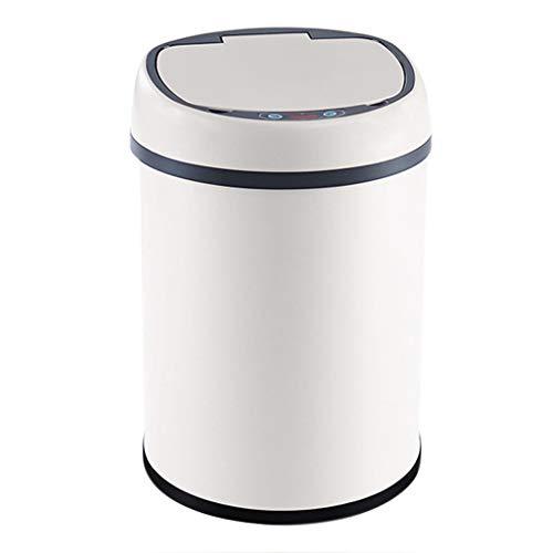 GAOXINDONG Intelligente Automatische Induktions-Mülleimer-Ausgangswohnzimmer-Schlafzimmer-Badezimmer-Wieder Aufladbares Wasserdichtes Umweltfreundliches Innenrecycling Bins-6L, 8L, 12L
