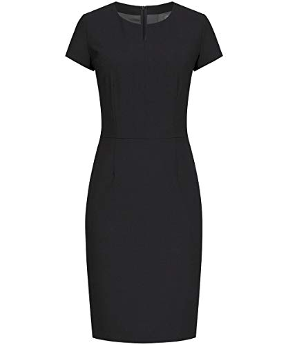GREIFF Damen Etui-Kleid Corporate WEAR Premium 1068 Regular Fit - Schwarz - Gr. 34