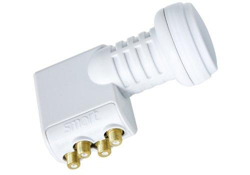 Smart TQS - LNB para equipos por satélite, blanco