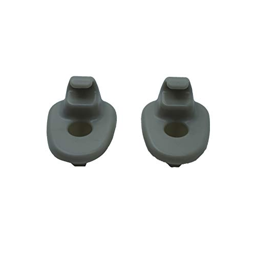 Hydraker 2PC Sun Visor Clips Compatible Replacement Retainer Fit for 2005-2012 Jeep Liberty /& 2008-2012 Dodge Nitro