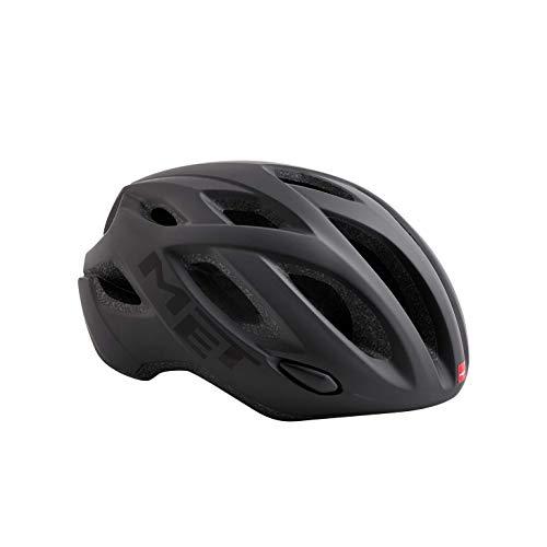 Met Idolo M 108, Casca de Bicicleta,Negro, 52 - 59 cm