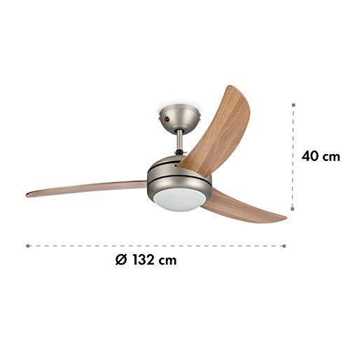 Klarstein El Paso plafondventilator - diameter: 132 cm (52 