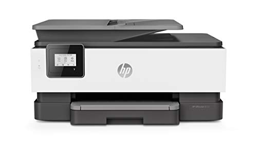 HP OfficeJet 8012 (1KR71B) Stampante Multifunzione a Getto di Inchiostro, Stampa, Scannerizza, Fotocopia, Wi-Fi, Wi-Fi Direct, Smart Tasks, Compatibile con il Servizio di Instant Ink, Nero