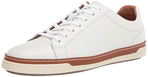 Allen Edmonds Men's Porter Derby Sneaker, White, 10
