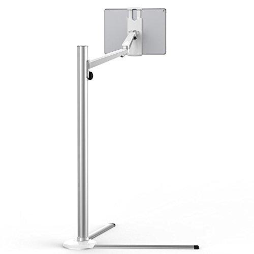 Arktis Ständer, Lounger Bodenständer für iPad, sicherer Stand, flexibel einstellbar, passend für iPad und andere Tabelts von 3,5
