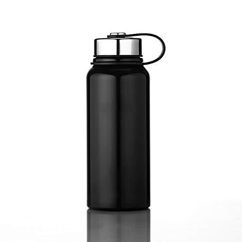 Botella de Agua Aislada Taza del viaje del frasco botella de...