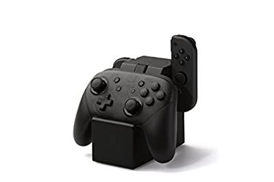 PowerA Charging Station for Nintendo Switch Joy Con & Pro Controllers - Nintendo Licensed