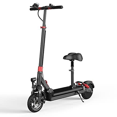 X-tout GS7 - Patinete eléctrico para adulto, asiento de manillar ajustable y...