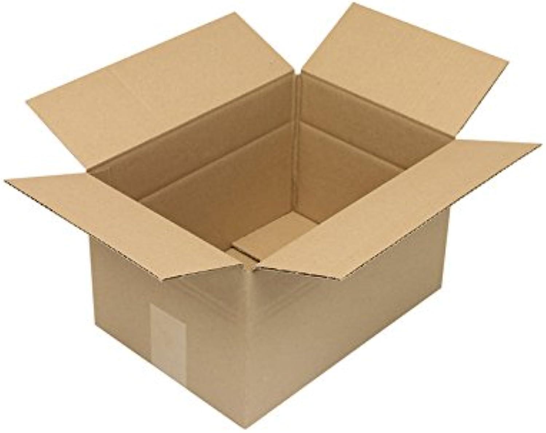 Faltkarton aus Wellpappe, 1-wellig, 1-wellig, 1-wellig, braun, Abm (LxBxH)  305x215x180mm, A4, Qual. 1.2B, 100 Stück B07CLLGP98    | Üppiges Design  5f63ac