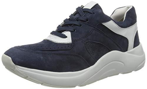 CAPRICE Kiss, Zapatillas para Mujer, Azul (Ocean/White 824), 36 EU