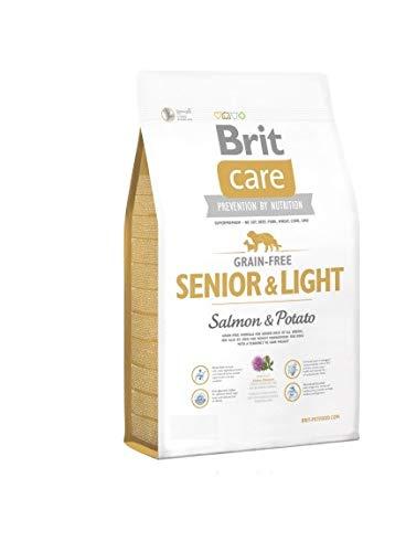 Brit Care Grain-Free Senior Salmon & Potato Comida para Perros - 1000 gr