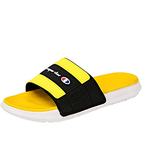 LDH Zapatillas al Aire Libre de Verano, Color de Moda Color de Color Diapositivas Sandalias de Playa Antideslizantes Hombres Pareja Flip Flops Inicio Inicio Baño Zapatillas