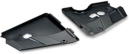 Unpainted SpeedForm Radiator Extension Covers for Mustang 2005-2009 GT//V6