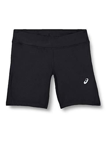 ASICS Damen Silver Sprinter Hose, schwarz, XS