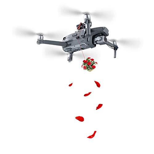 Polai Air Thrower Drop für DJI Mavic 2 Pro / Zoom, Luftwerfer Angeln Ehering Geschenke Lieferung Drop Release Zubehör