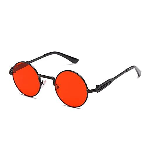 LUOXUEFEI Gafas De Sol Gafas De Sol Redondas Hombre Mujer Gafas De Sol Sol Glass Oval
