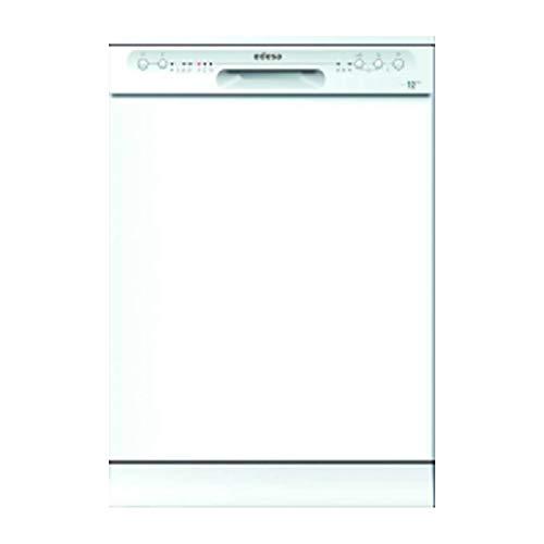 EDESA | Lavavajillas Libre Instalación | Modelo EDW-6020 WH | Ancho de 60 cm | 4 Programas | Acabado en Color Blanco | Eficincia Energética E (12)