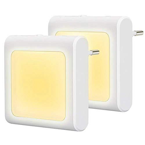 JOKBEN 2 Stück LED Steckdose mit Bild