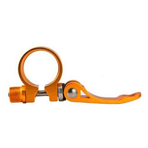 Bicicleta de liberación rápida asiento tubo abrazadera MTB soporte asiento tubo abrazadera bloqueo