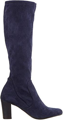 CAPRICE Damen Britt Hohe Stiefel, Blau (Ocean Stretch 870), 37.5 EU