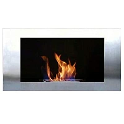 Gel + Ethanol Fire-Place - Diana Deluxe / Fireplace / Stove (Stainless Steel)
