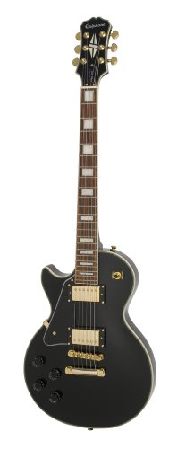 Epiphone Les Paul Custom PRO L/H - Guitarra eléctrica, color ebony